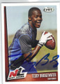 TEDDY BRIDGEWATER LOUISVILLE CARDINALS AUTOGRAPHED ROOKIE FOOTBALL CARD #90514J