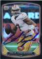 COLIN KAEPERNICK SAN FRANCISCO 49ers AUTOGRAPHED FOOTBALL CARD #90614D
