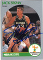 JACK SIKMA MILWAUKEE BUCKS AUTOGRAPHED BASKETBALL CARD #90614E