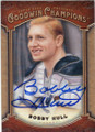 BOBBY HULL AUTOGRAPHED HOCKEY CARD #90614i