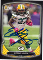 EDDIE LACY GREEN BAY PACKERS AUTOGRAPHED FOOTBALL CARD #90614K