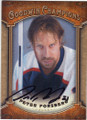 PETER FORSBERG AUTOGRAPHED HOCKEY CARD #90814D