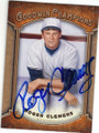 ROGER CLEMENS AUTOGRAPHED BASEBALL CARD #90814F