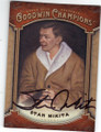 STAN MIKITA CHICAGO BLACKHAWKS AUTOGRAPHED HOCKEY CARD #90814i