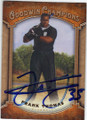 FRANK THOMAS CHICAGO WHITE SOX AUTOGRAPHED BASEBALL CARD #90814L