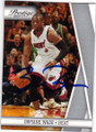 DWYANE WADE MIAMI HEAT AUTOGRAPHED BASKETBALL CARD #91214J