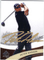 PETER HANSON AUTOGRAPHED GOLF CARD #92714i