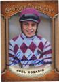 JOEL ROSARIO HORSE RACING JOCKEY AUTOGRAPHED CARD #92714K