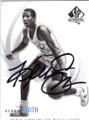 KENNY SMITH NORTH CAROLINA TAR HEELS AUTOGRAPHED BASKETBALL CARD #92714O