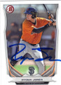 RYDER JONES SAN FRANCISCO GIANTS AUTOGRAPHED ROOKIE BASEBALL CARD #100614C