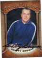 SCOTTY BOWMAN AUTOGRAPHED HOCKEY CARD #101314C
