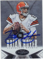 BRIAN HOYER CLEVELAND BROWNS AUTOGRAPHED FOOTBALL CARD #101314H