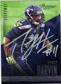 PERCY HARVIN SEATTLE SEAHAWKS AUTOGRAPHED FOOTBALL CARD #101414J
