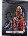 MARYSE AUTOGRAPHED WRESTLING CARD #101514F