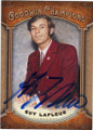 GUY LAFLEUR MONTREAL CANADIENS AUTOGRAPHED HOCKEY CARD #101614H