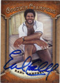 EARL CAMPBELL UNIVERSITY OF TEXAS AT AUSTIN AUTOGRAPHED FOOTBALL CARD #101614K