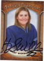 HAYLEY WICKENHEISER AUTOGRAPHED HOCKEY CARD #101714i