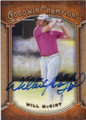 WILL McGIRT AUTOGRAPHED GOLF CARD #101814i