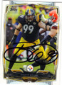 BRETT KEISEL PITTSBURGH STEELERS AUTOGRAPHED FOOTBALL CARD #101914B