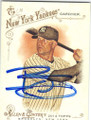 BRETT GARDNER NEW YORK YANKEES AUTOGRAPHED BASEBALL CARD #101914G