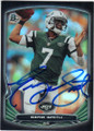 GENO SMITH NEW YORK JETS AUTOGRAPHED FOOTBALL CARD #101914H