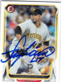 FRANCISCO LIRIANO PITTSBURGH PIRATES AUTOGRAPHED BASEBALL CARD #101914i
