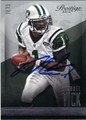 MICHAEL VICK NEW YORK JETS AUTOGRAPHED FOOTBALL CARD #101914J