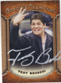 TEDY BRUSCHI UNIVERSITY OF ARIZONA AUTOGRAPHED FOOTBALL CARD #102014B
