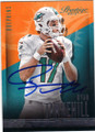 RYAN TANNEHILL MIAMI DOLPHINS AUTOGRAPHED FOOTBALL CARD #102014G
