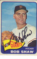 BOB SHAW SAN FRANCISCO GIANTS AUTOGRAPHED VINTAGE BASEBALL CARD #102014L