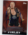 FINLAY AUTOGRAPHED WRESTLING CARD #102214E
