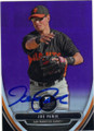JOE PANIK SAN FRANCISCO GIANTS AUTOGRAPHED BASEBALL CARD #102314A