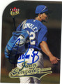JUAN GONZALEZ KANSAS CITY ROYALS AUTOGRAPHED BASEBALL CARD #102314C