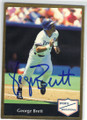 GEORGE BRETT KANSAS CITY ROYALS AUTOGRAPHED BASEBALL CARD #102414B