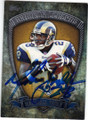 MARSHALL FAULK ST LOUIS RAMS AUTOGRAPHED FOOTBALL CARD #102414J