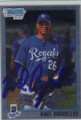 NOEL ARGUELLES KANSAS CITY ROYALS AUTOGRAPHED ROOKIE BASEBALL CARD #102514E