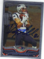 DANNY AMENDOLA NEW ENGLAND PATRIOTS AUTOGRAPHED FOOTBALL CARD #102714B