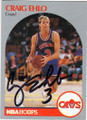 CRAIG EHLO CLEVELAND CAVALIERS AUTOGRAPHED BASKETBALL CARD #102714D