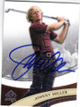 .JOHNNY MILLER AUTOGRAPHED GOLF CARD #102814E