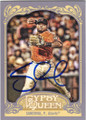 PABLO SANDOVAL SAN FRANCISCO GIANTS AUTOGRAPHED BASEBALL CARD #110314F