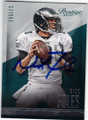 NICK FOLES PHILADELPHIA EAGLES AUTOGRAPHED FOOTBALL CARD #110314G