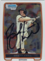 BRETT KRILL SAN FRANCISCO GIANTS AUTOGRAPHED ROOKIE BASEBALL CARD #110514F