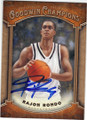 RAJON RONDO UNIVERSITY OF KENTUCKY WILDCATS AUTOGRAPHED BASKETBALL CARD #110514H