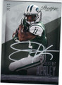 JEREMY KERLEY NEW YORK JETS AUTOGRAPHED FOOTBALL CARD #111014A