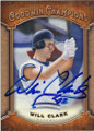 WILL CLARK MISSISSIPPI STATE UNITVERSITY AUTOGRAPHED BASEBALL CARD #111514B