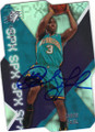 CHRIS PAUL NEW ORLEANS HORNETS AUTOGRAPHED BASKETBALL CARD #111514E