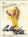 ANTHONY ROBLES AUTOGRAPHED WRESTLING CARD #111714D