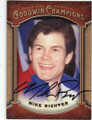 MIKE RICHTER NEW YORK RANGERS AUTOGRAPHED HOCKEY CARD #111714J