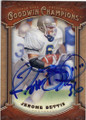 JEROME BETTIS NOTRE DAME FIGHTING IRISH AUTOGRAPHED FOOTBALL CARD #111914A