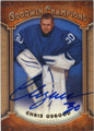 CHRIS OSGOOD DETROIT RED WINGS AUTOGRAPHED HOCKEY CARD #111914J